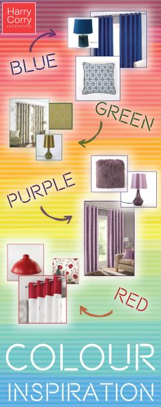 View our range of ready made eyelet curtains for sale. When you buy with Harry Corry we give you free delivery on orders over Purple Red Color, Green And Purple, Harry Corry, Ready Made Eyelet Curtains, Interior Blogs, Curtains For Sale, Color Inspiration, Living Spaces, Make It Yourself