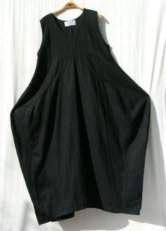 * ZEP - ZEP * wundervolles Leinenkleid mit Beulen   Lagenlook
