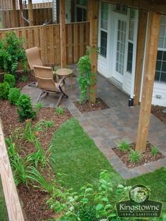 townhome patios