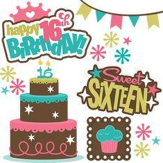 16th Birthday Party On Pinterest 16th Birthday Cakes