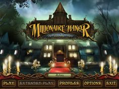 Millionaire Manor (PC) [Steam, Donated] - Ends Hidden Object Games, Hidden Objects, Steam Video Games, Mystery Games, Enter To Win, Extended Play, Are You The One, Finals, Mansions