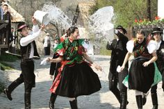 10 Unique Easter Traditions Around The World - Listverse Folk Costume, Costumes, Hungarian Embroidery, Easter Traditions, Water Photography, Dress Out, Female Friends, One Year Old, Perfect Timing