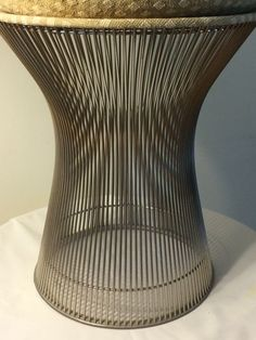 Warren Platner Stool from the Platner Collection // Hollywood Regency // Free USA Ship. on Etsy, $795.00