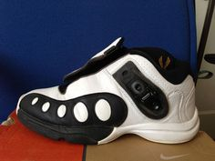 a932b2047c9 Original NIKE Air Zoom GP 9.5 Glove Gary Payton Son Hawk Flight Seattle  Sonics