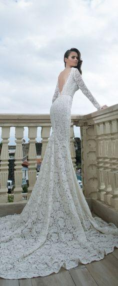 Shabi & Israel 2015 Bridal Collection #weddingdress #weddinggowns #thesassyallure #asmaalkhair #bridalgowns #weddingdresses #bridalwear #gowns