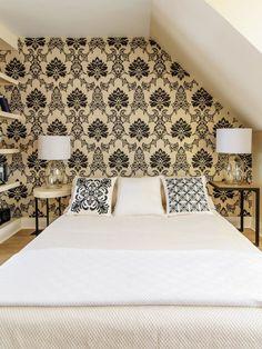 Asiatisches Schlafzimmer Design Holz Bett Papierlampen Einrichtung Pinterest Zen