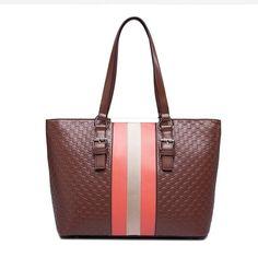 Hot Sale High Quality Color Matching Elegant Western Handbag Bronze