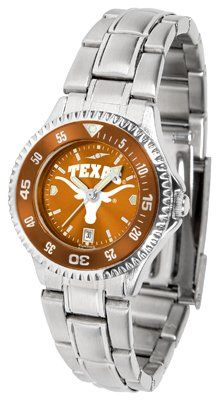 Texas Longhorns - University Of Competitor Anochrome - Steel Band W/ Colored Bezel - Ladies - Women's College Watches by Sports Memorabilia. $87.08. Makes a Great Gift!. Texas Longhorns - University Of Competitor Anochrome - Steel Band W/ Colored Bezel - Ladies