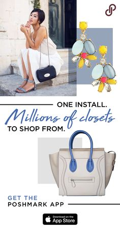 One install. Millions of closets to shop from. Shop over 5,000 brands at up to 70% off retail. Install Poshmark to access deals on Chanel, Hunter, UGG, adidas, lululemon, Levi and all the hottest brands. With over a million dollars worth of new and gently used merchandise added to the marketplace daily, you're guaranteed an amazing fashion or beauty find every time you open the app.