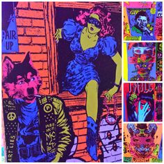 FAILE: Savage/Sacred Young Minds at the Brooklyn Museum (on until October 4th) #faileart #faile #brooklyn #art
