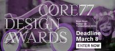 2017 Core77 Design Awards Deadline March 8th