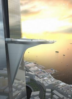 Shard Builders to construct World's Tallest Tower Jeddah, Futuristic City, Futuristic Architecture, Architecture Design, Organic Architecture, Beautiful Architecture, Chrysler Building, Project Portfolio, Adrian Smith