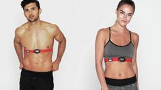 Gauge how intensely you are exercising by wearing a heart rate monitor!