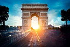 These Photos Of Famous Monuments Zoomed Out / Arc de Triomphe, Paris, France Oh The Places You'll Go, Places Around The World, Places To Travel, Places To Visit, Around The Worlds, Famous Monuments, Famous Landmarks, Famous Places, Historical Landmarks