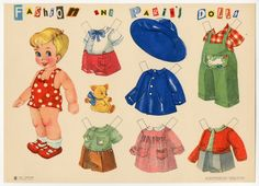 78.2786: Fashion and Paris's Dolls No. 6 | paper doll | Paper Dolls | Dolls | National Museum of Play Online Collections | The Strong