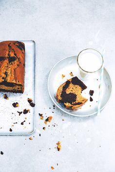 Saveurs Végétales: ► Cake marbré (super moelleux) choco-bergamote