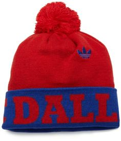 MLS FC Dallas, Cuffed Pom Knit Hat, One Size Fits All, Red adidas. $10.45. Save 55% Off!
