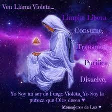 Resultado de imagen para llama violeta oraciones