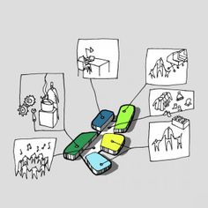 In Progress: Design Kindergarten/CEBRA Very useful and illustrative pictures of process. Describe the world and the architecture from a kid's perspective. What they want to learn, what they a…