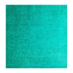Franklin 7'11x8 Turquoise now featured on Fab.