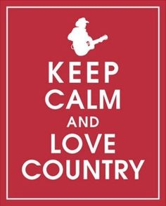 LOVE country!