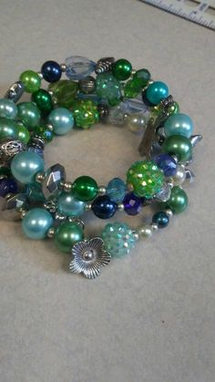 Check out this item in my Etsy shop https://www.etsy.com/listing/277174810/beaded-bracelet