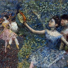 EDGAR DEGAS () - DANCER WITH A TAMBOURINE Mais