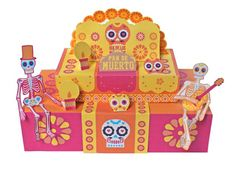 what is day of the dead ofrenda paper craft