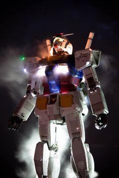 Life size Gundam, Odaiba island in Tokyo, Japan