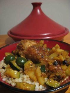 North African Chicken Tagine