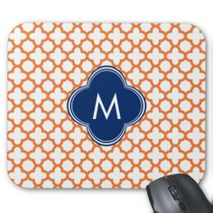 ==> consumer reviews          	Monogrammed Orange  and Royal Blue Quatrefoil Mousepads           	Monogrammed Orange  and Royal Blue Quatrefoil Mousepads We have the best promotion for you and if you are interested in the related item or need more information reviews from the x customer who are ...Cleck Hot Deals >>> http://www.zazzle.com/monogrammed_orange_and_royal_blue_quatrefoil_mousepad-144515790121236190?rf=238627982471231924&zbar=1&tc=terrest