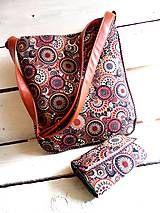 Veľké tašky - Brown Mandala - 5235587_
