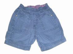 Maat 74 Blauw Korte Broek  Merk: Zara baby