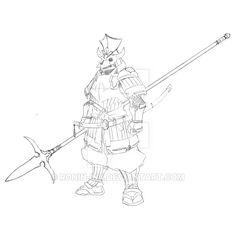 Demon Samurai by Ronin-ink on DeviantArt