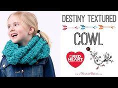 Crochet Destiny Textured Cowl - YouTube