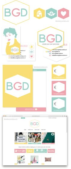 Identity consisting of logo background pattern business card restyling identity consisting of logo category icons business card 2 variations colourmoves