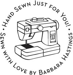 Sewing Machine Custom Snap Embosser