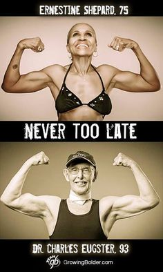 My motivation!! It's never too late. #growingbolder #quotes