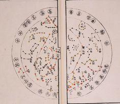 """From Yoshitake Iwahashi's """"Heitengi zukai"""" 1802. Author became chief telescope-maker of the Shogunate @AdlerPlanet."""
