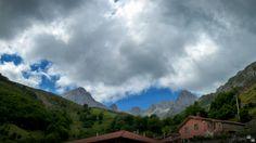Macizo de las Ubiñas desde Tuiza de arriba, Asturias