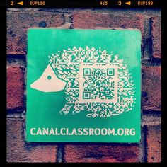 #qr Code per il sito della Canalclassroom.org  - - Canalclassroom an aducation web site for exploring art, ecology and life the Regent's Canal Concept Diagram, Educational Websites, Decoding, Ecology, Qr Codes, Exploring, Hedgehogs, Dress Code, Software