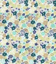 Buttercream™ Stella Cotton Fabric-Ditsy Allover