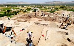 """Lost city of Ullis found in Turkey. Researchers working in the area have discovered what they say is the 'lost city' of Ullis [Credit: AA] """"According to a papyrus document from the Iron Age, a lost city which we have found in the region is where the Prophet Abraham lived."""