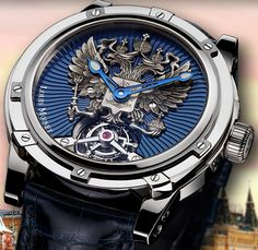 Louis Moinet - Russian Eagle Tourbillon