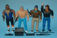 A-Team action figures