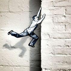 street art by Joe Iurato http://restreet.altervista.org/le-installazioni-intagliate-nel-legno-di-joe-iurato/ https://www.etsy.com/shop/urbanNYCdesigns?ref=hdr_shop_menu