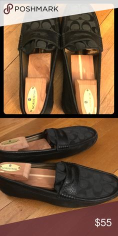 Coach Men's Loafers Used Black Men's Coach Loafers...still in great condition.  Size 8.5 Coach Shoes Loafers & Slip-Ons
