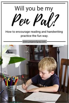 Encourage reading and handwriting practice with this kids activity while strengthening bonds and creating cherished mementos. Teaching Letter Recognition, Teaching Letters, Learning The Alphabet, Alphabet Activities, Preschool Activities, Pen Pal Letters, Letter Formation, Big Words, Handwriting Practice
