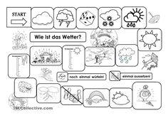 Arbeitsblatt: Kleidung und Wetter | School | Pinterest | German ...