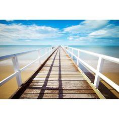 Biały pomost - obraz na płótnie 150x100, 120x80, 90x60, 70x45, 60x40, 40x26 #fedkolor #biały #pomost #pejzaż #obraznapłótnie #obrazzezdjęcia #fotoobraz #obraz #wnętrza #pomysły #inspiracje #diy #aranżacje #dopokoju #dosalonu #wakacje #morze